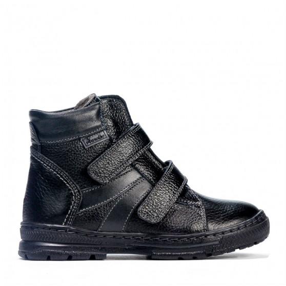 Children boots 3015 black combined