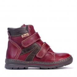 Children boots 3015 bordo combined