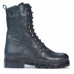 Women boots 3337 gray pearl