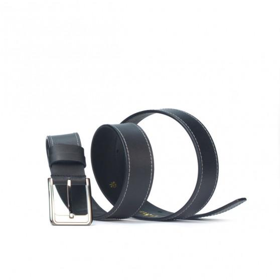 Men belt 34bc black mat
