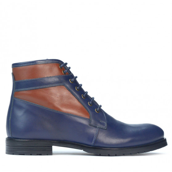 Men boots 4114 indigo combined