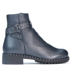 Women boots 3338 gray pearl
