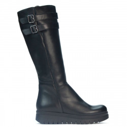 Women knee boots 3340 black