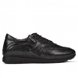 Pantofi sport/casual dama 6005 black combined