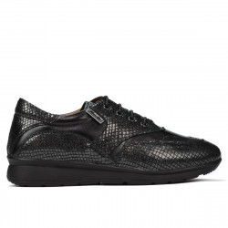 Pantofi sport/casual dama 6005 negru combinat