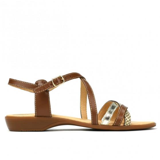 Sandale dama 5058 maro combinat