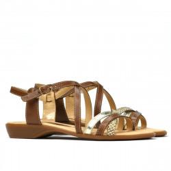 Women sandals 5058 brown combined