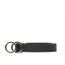 Women belt 09m black