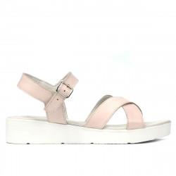 Women sandals 5049-1 pudra