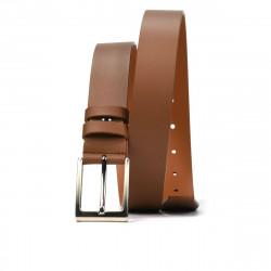 Men belt 05b brown deschis