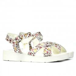 Women sandals 5049-1 floral multicolor