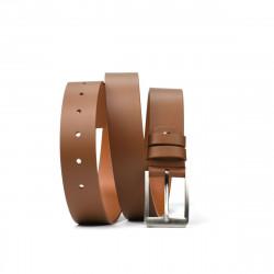 Men belt 14b brown deschis