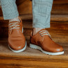 Pantofi casual barbati 889 coniac lifestyle