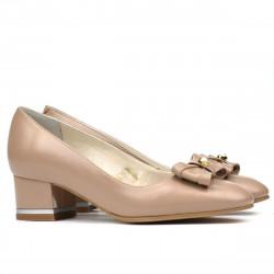 Women stylish, elegant shoes 1270 cappuccino