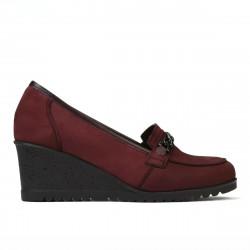 Pantofi casual dama 6011 bufo bordo