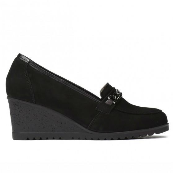 Pantofi casual dama 6011 bufo negru