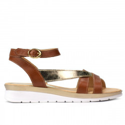 Women sandals 5060 brown combined