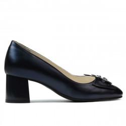 Women stylish, elegant shoes 1274 indigo pearl