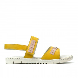 Children sandals 537 yellow