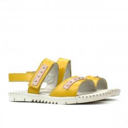Children sandals 537 yellow