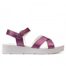 Women sandals 5049-1 pink pearl