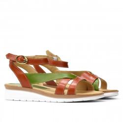 Women sandals 5060 orange combined