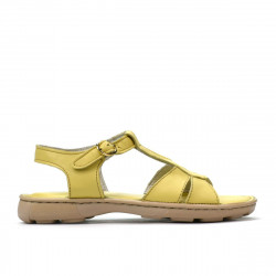 Children sandals 535 yellow