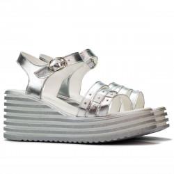 Sandale dama 5064 argintiu