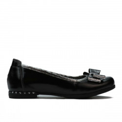Children shoes 174 patent black combined