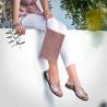 Sandale dama 5059 roz prafuit lifestyle