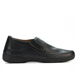 Women loafers, moccasins 6000s black