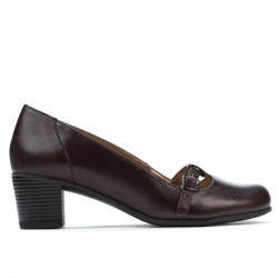 Women stylish, elegant, casual shoes 6012 bordo