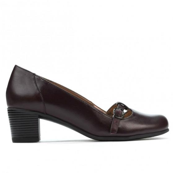 Pantofi casual / eleganti dama 6012 bordo