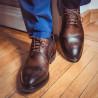Men stylish, elegant shoes 896 a cafe