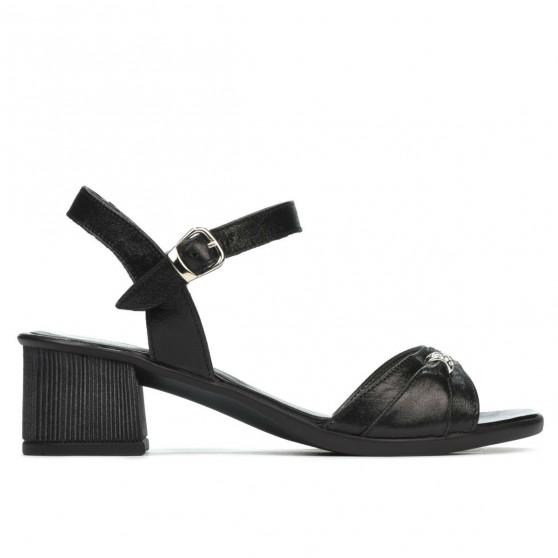 Sandale dama 5066 negru sidef