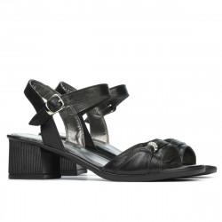 Women sandals 5066 black pearl