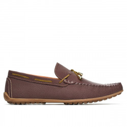 Men loafers, moccasins 863 g bordo