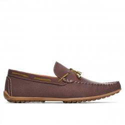 Men loafers, moccasins 863 g bordo