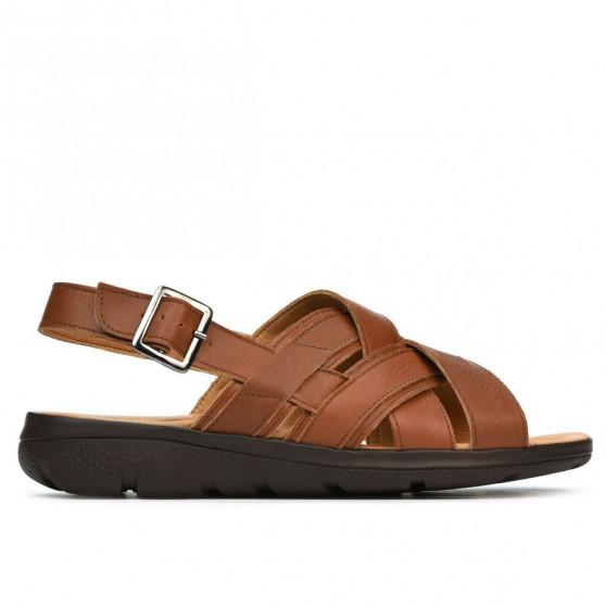 Sandale adolescenti 347 maro