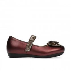 Small children shoes 67c bordo pearl combined