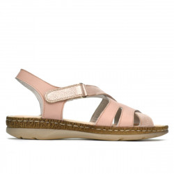 Women sandals 5062 pudra combined