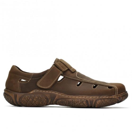 Sandale barbati 899 tuxon maro