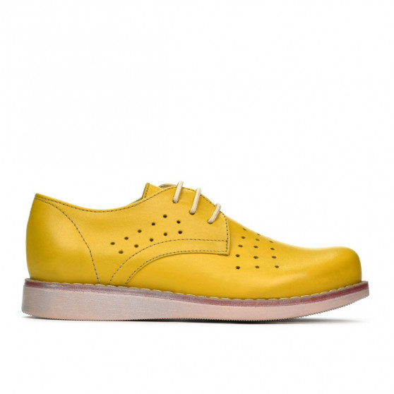 Children shoes 173 yellow