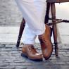 Men casual shoes 836 brown