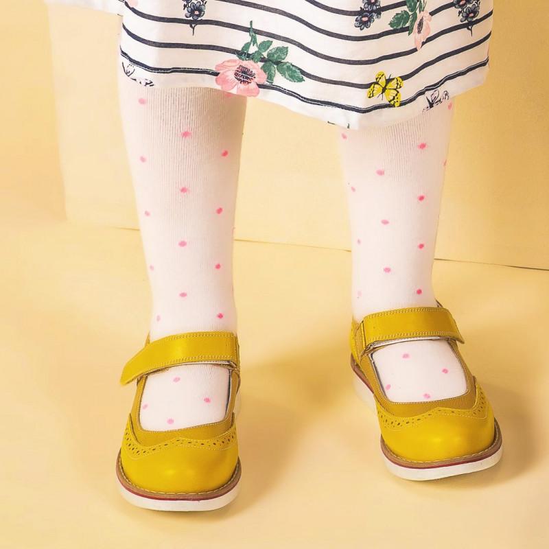 Pantofi copii 153 galben combinat lifestyle