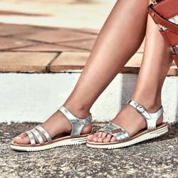 Women sandals 5067 silver