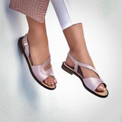 Sandale dama 5059 roz prafuit