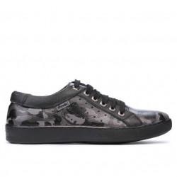 Pantofi casual/sport barbati 841 gray camuflaj