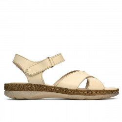 Women sandals 5063 beige