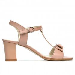 Women sandals 1257 pudra pearl